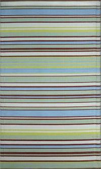 Stripes – Grey & Aqua